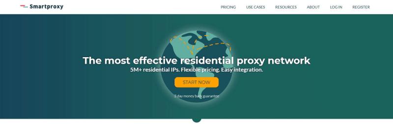 SmartProxy Homepage