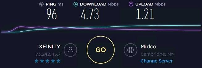Local Proxies speed test ip 1