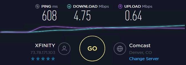 Local Proxies speed test ip 10