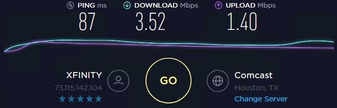 Local Proxies speed test ip 3