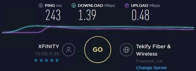 Local Proxies speed test ip 7