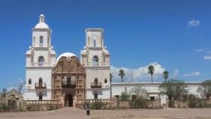 Mission San Xavier del Bac = Tucson AZ