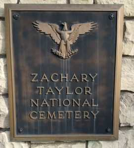 Zachary Taylor national Cemetery