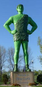 Jolly Green Giant - Blue Earth Minnesota