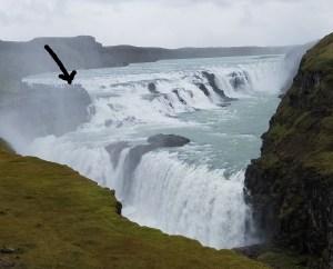 Gullfoss Falls by Charley Carlin