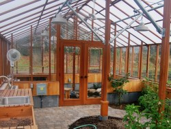 Partition Wall in greenhouse