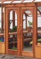 Nantucket greenhouse double doors