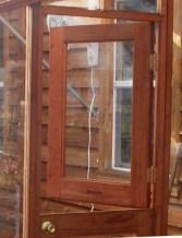 Dutched Greenhouse Door