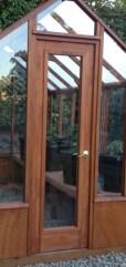Full lite glass door