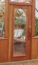 Tudor style Arched glass door