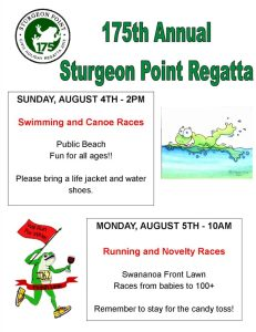 175th regatta flyer