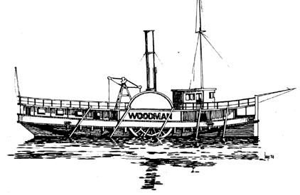 History SS Woodman