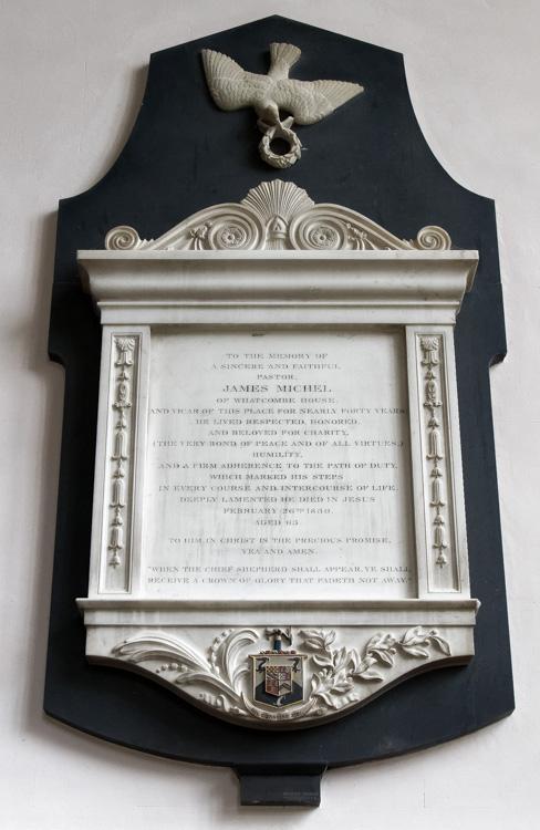 Sturminster Newton, St Mary's Church, James Michel