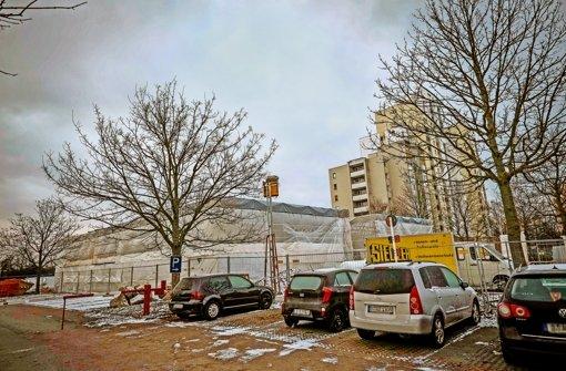 Im Mai sollen die neuen Unterkünfte am Sturmvogelweg bezugsfertig sein Foto: Lichtgut/Max Kovalenko
