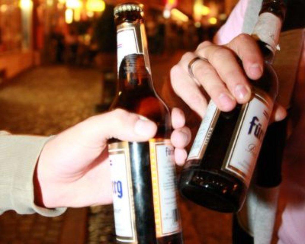 kampf gegen alkoholmissbrauch bier