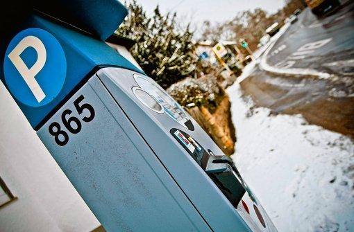 Ein Parkscheinautomat im Stuttgarter-Westen Foto: StN