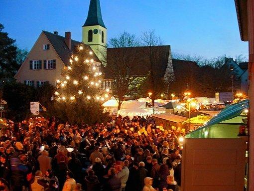 Der Bürgerverein veranstaltet seit Jahren den Stammheimer Weihnachtsmarkt. Foto: