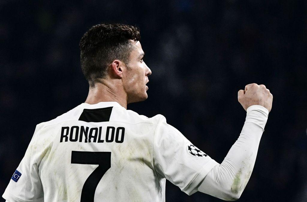 Superstar Von Juventus Turin Cristiano Ronaldo Der Beste Fussballer Unserer Zeit Fussball Stuttgarter Nachrichten
