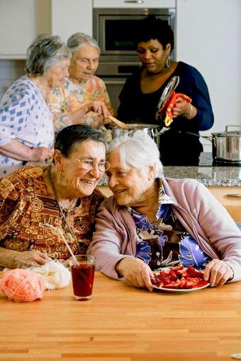 Neue Wohnform: Senioren-Wohngemeinschaften Foto: Birgit Betzelt