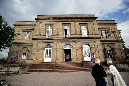 Die Zukunft der Villa Berg ist noch ungewiss. Foto: Achim Zweygarth