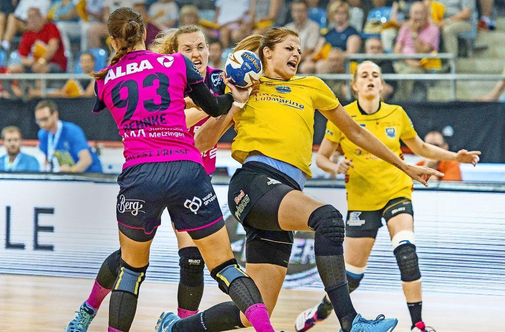 handball wm der frauen eine stadt im