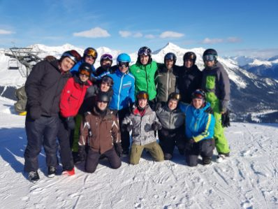Gruppe Skiweekend 2018