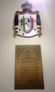Above Skene Memorial