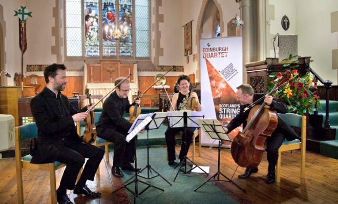 Edinburgh Quartet at St Vincent's 01