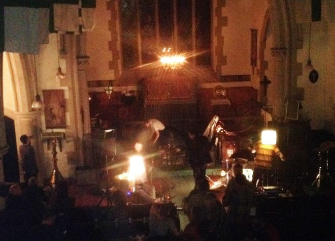 The gig at St Vincent's on Friday 21st August 2015