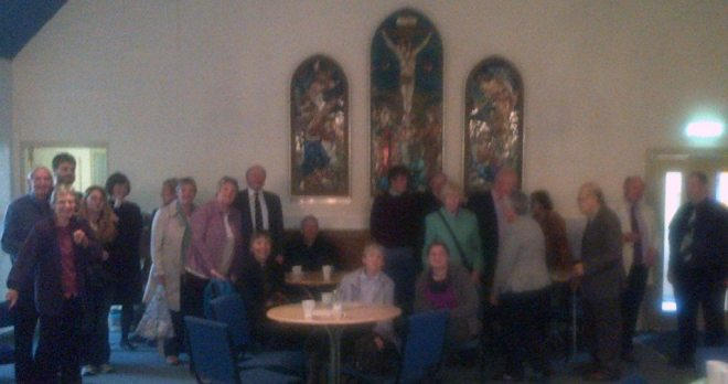 On 20th September 2015 members from the five smaller churches in the Diocese of Edinburgh met at St David's Pilton for an afternoon service.