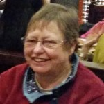 Ruth Stark, Vestry member, Music sub-committee and Catering Convenor