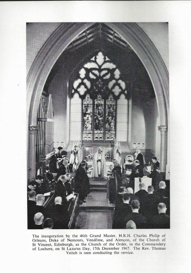 Commandery Inauguration 1967