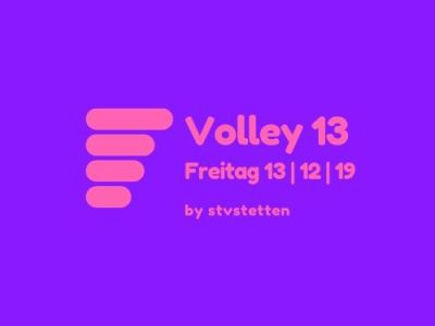 Hallenturnier Volley13