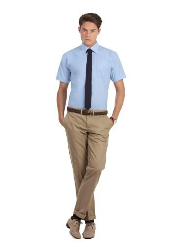Vente client chemise oxford homme