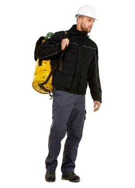 Veste pro épaisse hautement fonctionnelle pour l'industrie