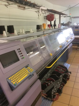 Machine confection textile broderie