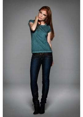T-shirt manches courtes tendance femme