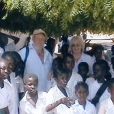 gambia picture with children