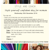 New Colour and Style Workshops Hertfordshire Studio