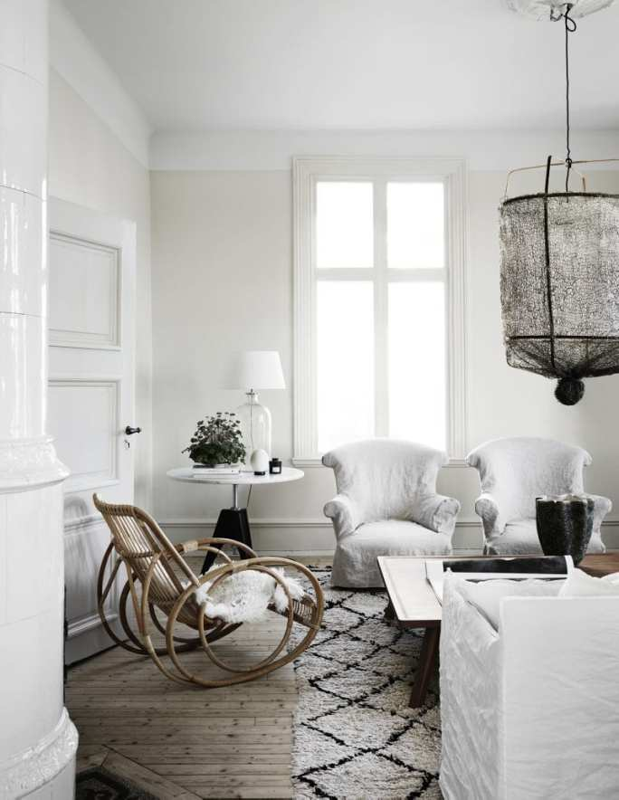 Minimalist living room | Home of Artilleriet's Owners
