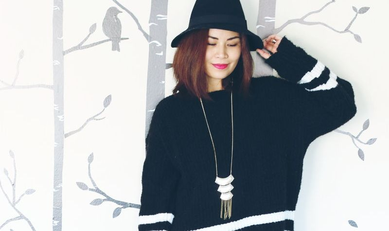 Black outfit, monochromatic look, STYLEanthropy, fashion, #OOTD
