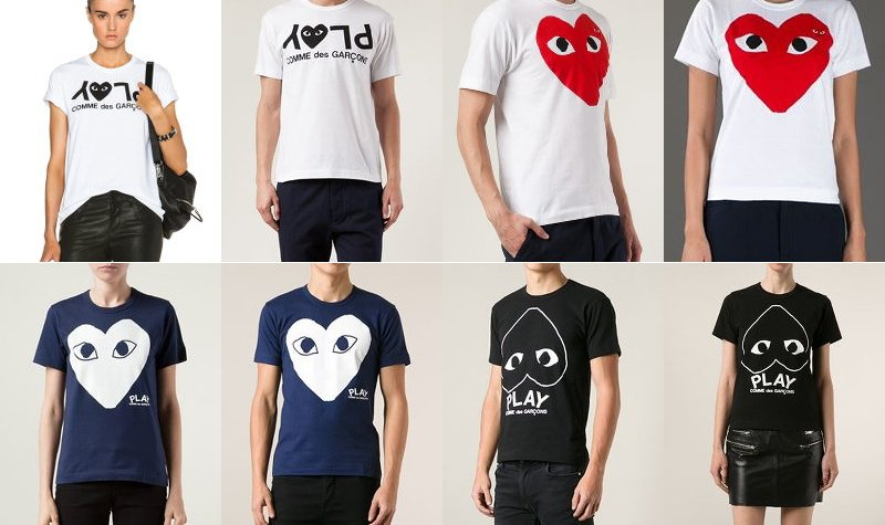 Comme Des Garcons Play, shirts, style, fashion
