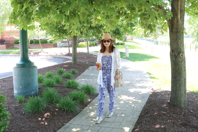 jumpsuit, lace, summer, trend, outfit, look