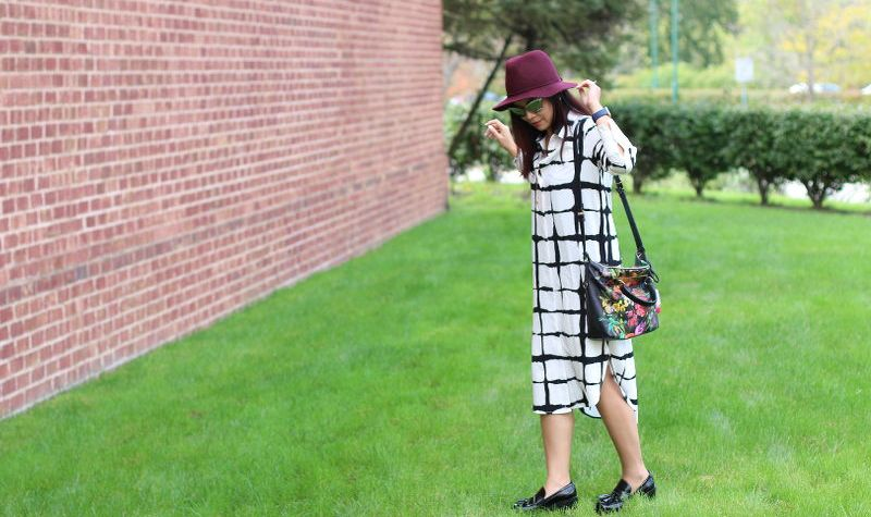 Adam Lippes for Target Shirt Dress, fashion, outfit, floppy hat