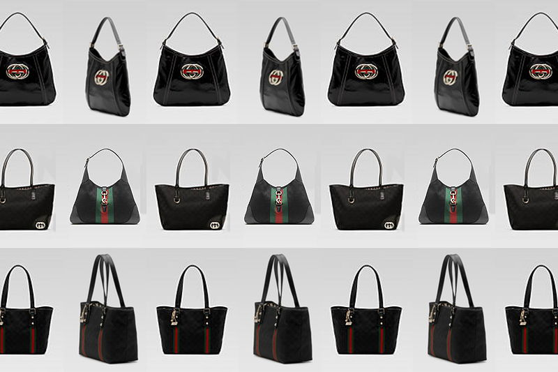 Gucci black bags, purse