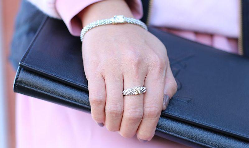 LAGOS Jewelry Diamond X Ring