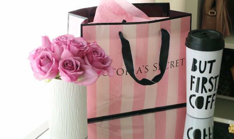 Victorias Secret, Valentines Day Gift, roses, coffee mug