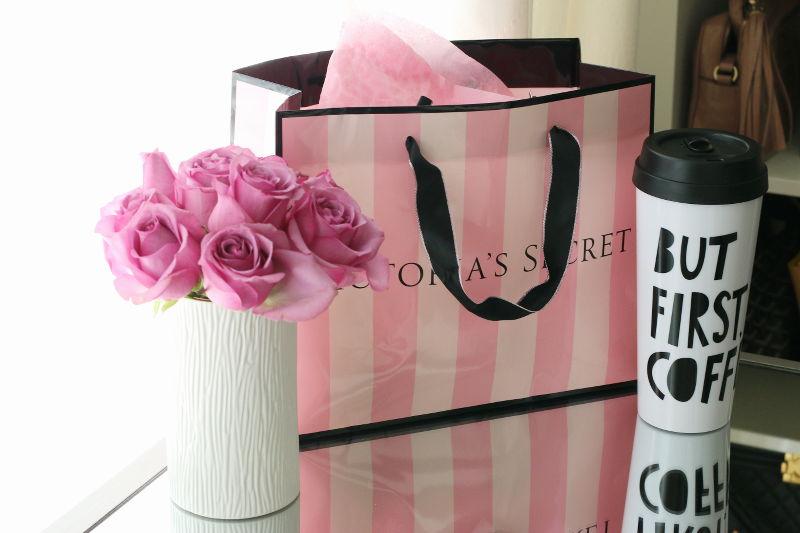 Victorias Secret, Valentines Day Gift, roses, coffee mug