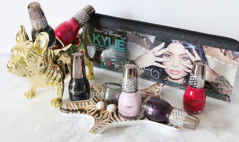 Kylie Jenner Sinful Colors Nail Polish Collection