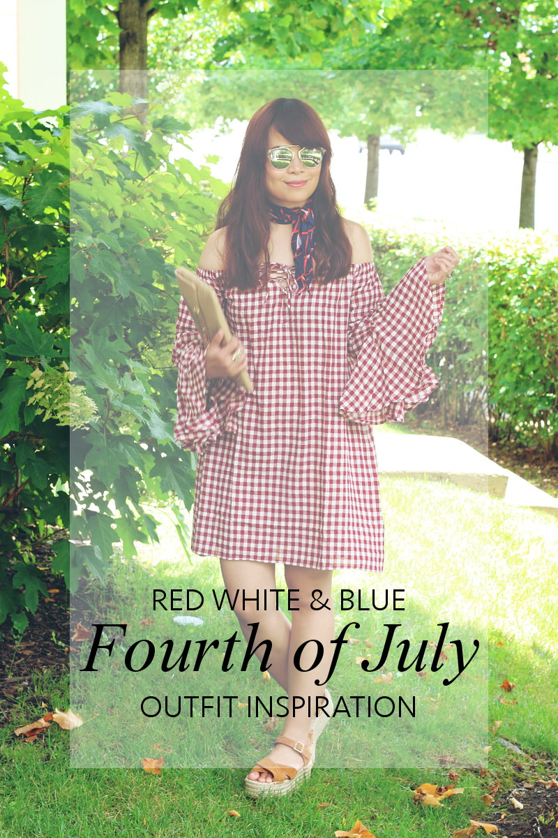 Fourth of July Red White Blue Outfit Inspiration